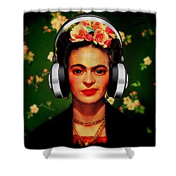 Frida Jams Shower Curtain