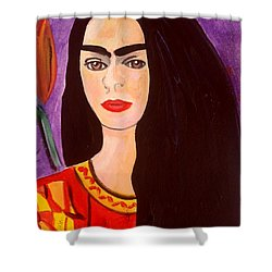 Frida Kahlo Young Shower Curtain