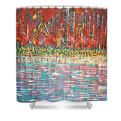 Friday At The Beach - Sold Shower Curtain by George Riney