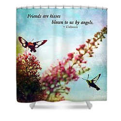 Shower Curtain featuring the photograph Friends Are .....  by Kerri Farley