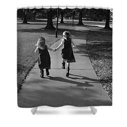 Friends Forever Shower Curtain