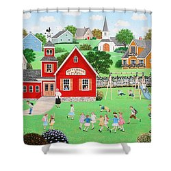 Friends Forever Shower Curtain by Wilfrido Limvalencia