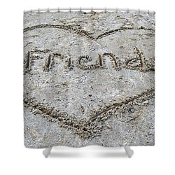 Friends Shower Curtain by Frozen in Time Fine Art Photography