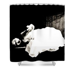Frightened By The Light Shower Curtain by Jessica Shelton