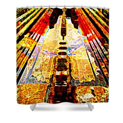 Fritz Lang's Metropolis Yet Stands Shower Curtain