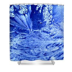 Shower Curtain featuring the digital art Frocean by Richard Thomas