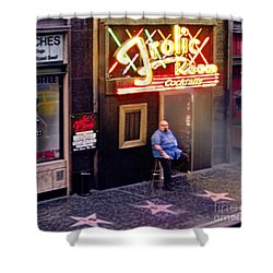 Frolic Room.hollywood Blvd Shower Curtain by Jennie Breeze