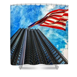 From A Different Perspective II Shower Curtain by Rene Triay Photography