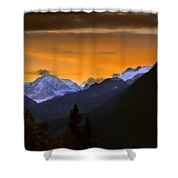 Shower Curtain featuring the photograph From A Distance by Dyle   Warren