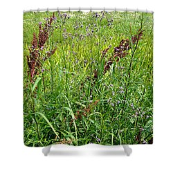 From A Soldier's Perspective 1 Shower Curtain by Alys Caviness-Gober