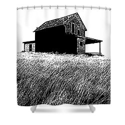Shower Curtain featuring the photograph From Days Gone By by Vivian Christopher