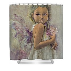 From Heaven... Shower Curtain by Dorina  Costras