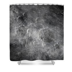 From Holes To Asteroids Shower Curtain by Loriental Photography
