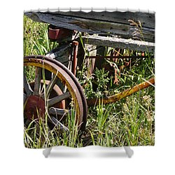 From Rust To Grass Shower Curtain