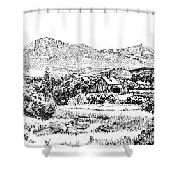 From Simpler Times Shower Curtain