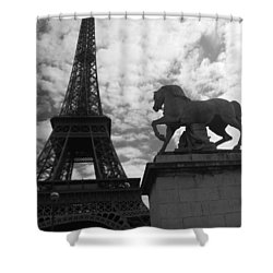 Shower Curtain featuring the photograph From The Bridge by Lisa Parrish