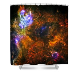 From The Darkness Shower Curtain by Jennifer Rondinelli Reilly - Fine Art Photography
