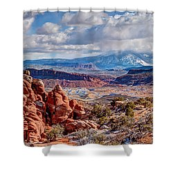 From The Fiery Furnace Shower Curtain