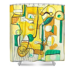 From Within 10 Shower Curtain by Stephen Lucas