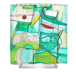 From Within #15 Shower Curtain by Stephen Lucas