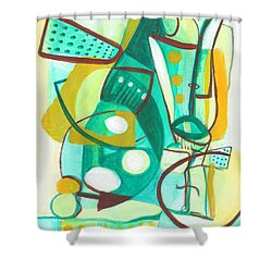 From Within #16 Shower Curtain