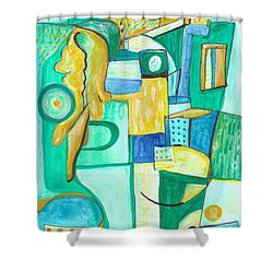 From Within 9 Shower Curtain