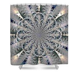 Frost Seal Shower Curtain by Anastasiya Malakhova