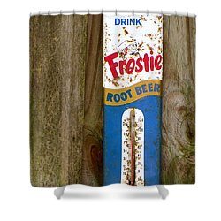 Frostie Root Beer  Shower Curtain