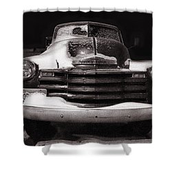 Frozen In Time Shower Curtain by Ken Smith