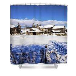 Frozen In Time One  Shower Curtain