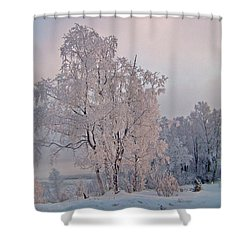 Shower Curtain featuring the photograph Frozen Moment by Jeremy Rhoades
