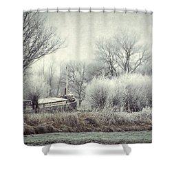 Frozen World Shower Curtain
