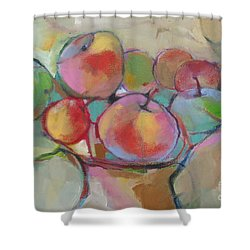 Fruit Bowl #5 Shower Curtain by Michelle Abrams