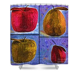 Fruit Shower Curtain by Kirt Tisdale