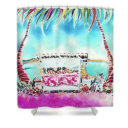 Fruit Stand Shower Curtain