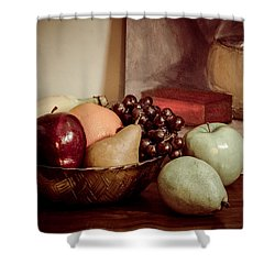 Fruit With Painting Shower Curtain