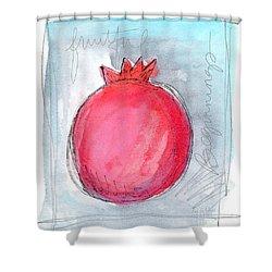 Fruitful Beginning Shower Curtain by Linda Woods