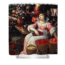 Fruitmarket Summer, 1590 Shower Curtain