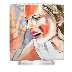 Frustration Shower Curtain