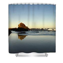 Ft. Bragg Moonset Shower Curtain