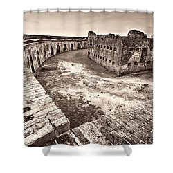 Ft. Pike Overview Shower Curtain