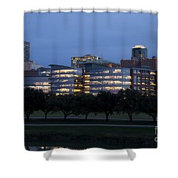 Ft. Worth Texas Skyline Shower Curtain
