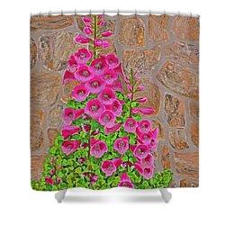 Fuchsia Profusion Shower Curtain