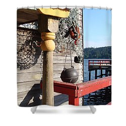 Fulford Harbour Shower Curtain