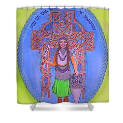 Full Armor Of Yhwh Woman Shower Curtain