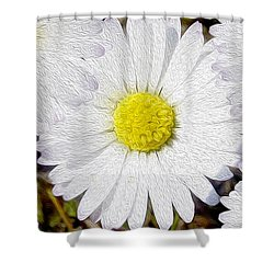 Full Bloom Shower Curtain by Jon Neidert
