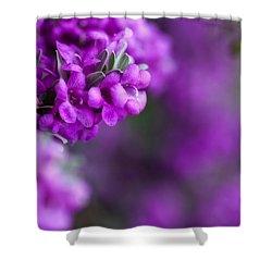 Full Bloom Shower Curtain by Mark Alder