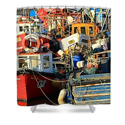 Full Harbour Shower Curtain