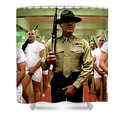 Full Metal Jacket 1 Stanley Kubrick 1979 Shower Curtain