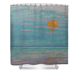 Full Moon In May Shower Curtain
